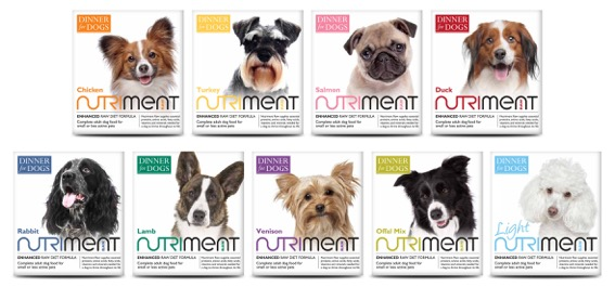 Nutriment Dinner For Dogs Range