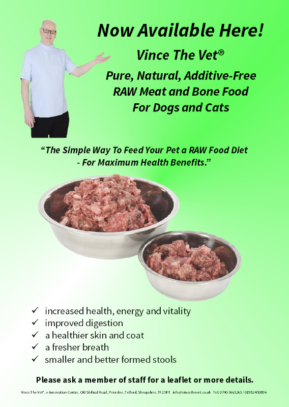 Vince the vet natural dog food supplier directory raw food poster forumfinder Gallery