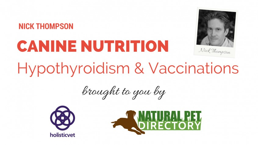 Nick Thompson Canine Nutrition
